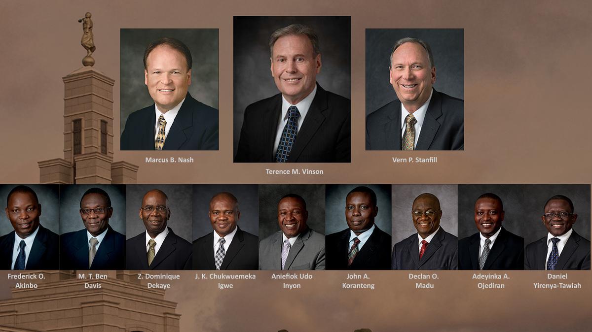 Africa West Area Leaders