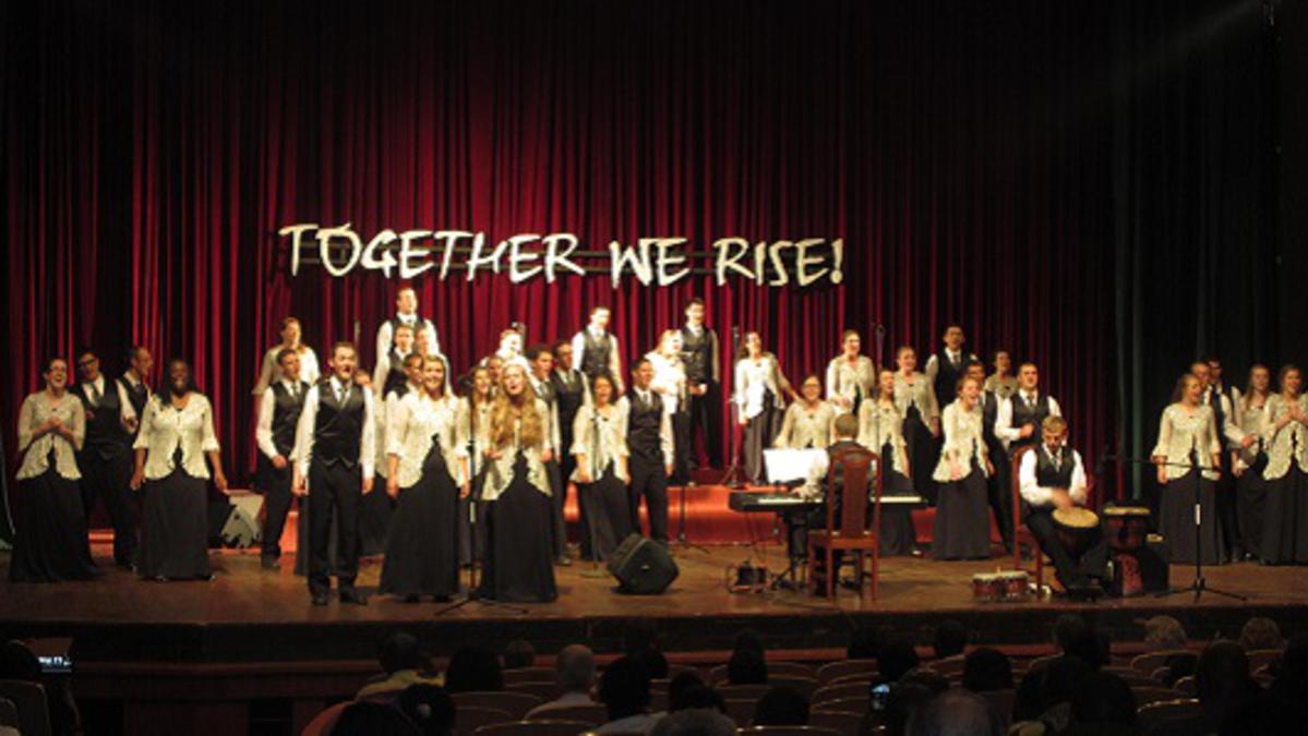 Tournée des chanteurs Collégiaux de BYU-Idaho