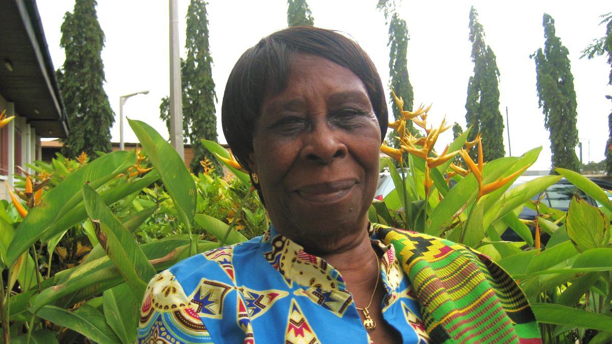 Notre Patrimoine: La Pionnière d'Accra, au Ghana, Sœur Juliana Anno
