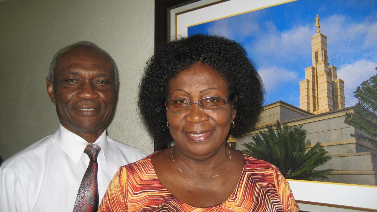 Notre Patrimoine: Frère Kenneth et Sœur Andam du Ghana