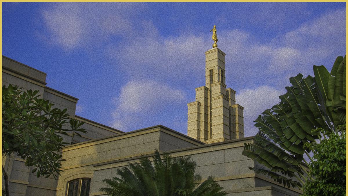Temple d'Accra au Ghana: Commémoration du Dixième Anniversaire