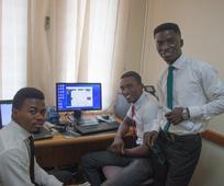 Eric Boateng, Isaac Amissah, Hadonat Dowouna.jpg