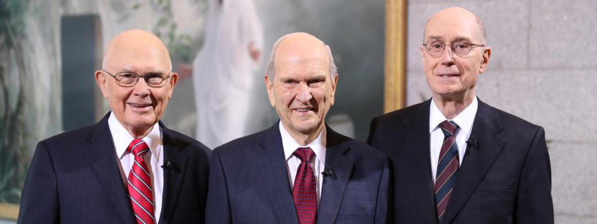 A Message from the First Presidency