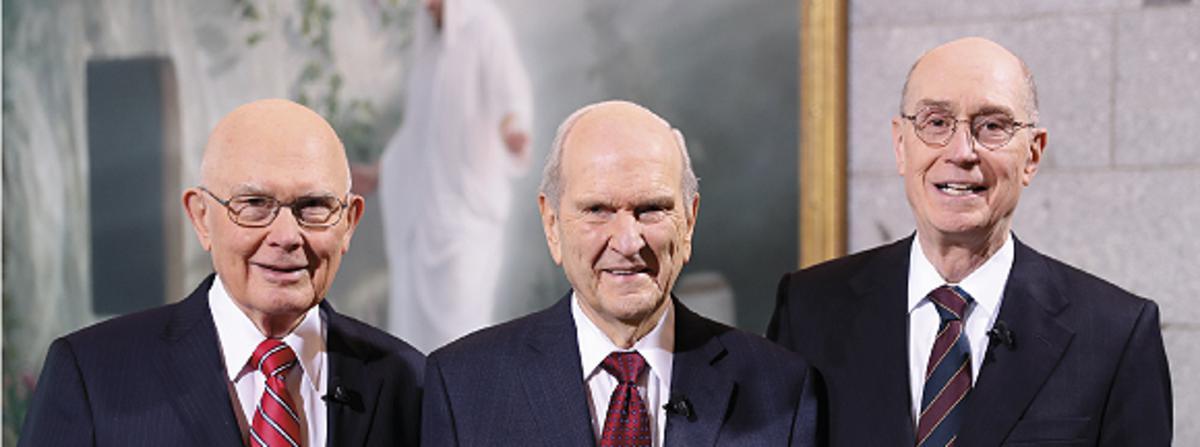 耶穌基督後期聖徒教會新任總會會長團