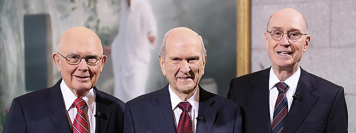First Presidency members