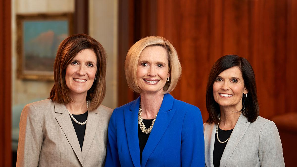 New LDS Young Women Presidency