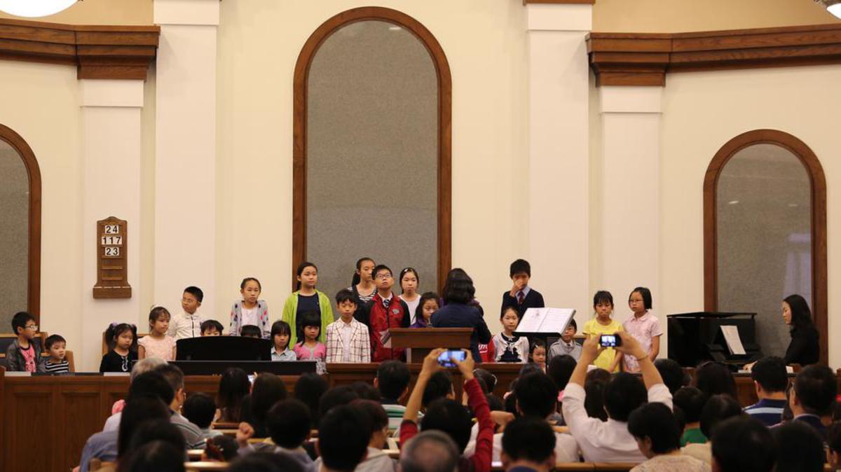 教會與鈴木音樂學院合辦「音樂分享會」