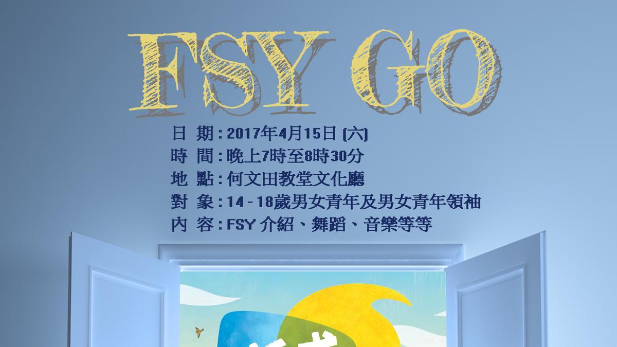 2017鞏固青年大會之地區活動 'FSY Go'
