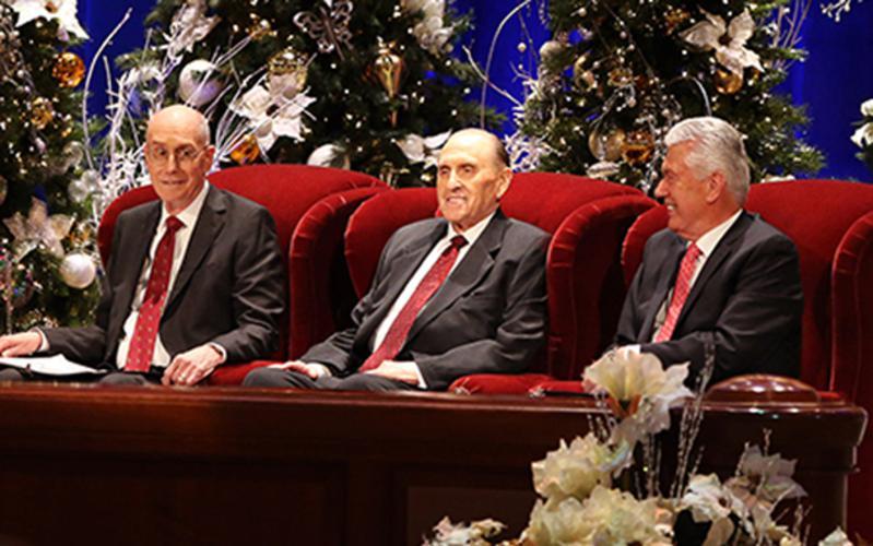 2016年總會會長團聖誕祈禱會