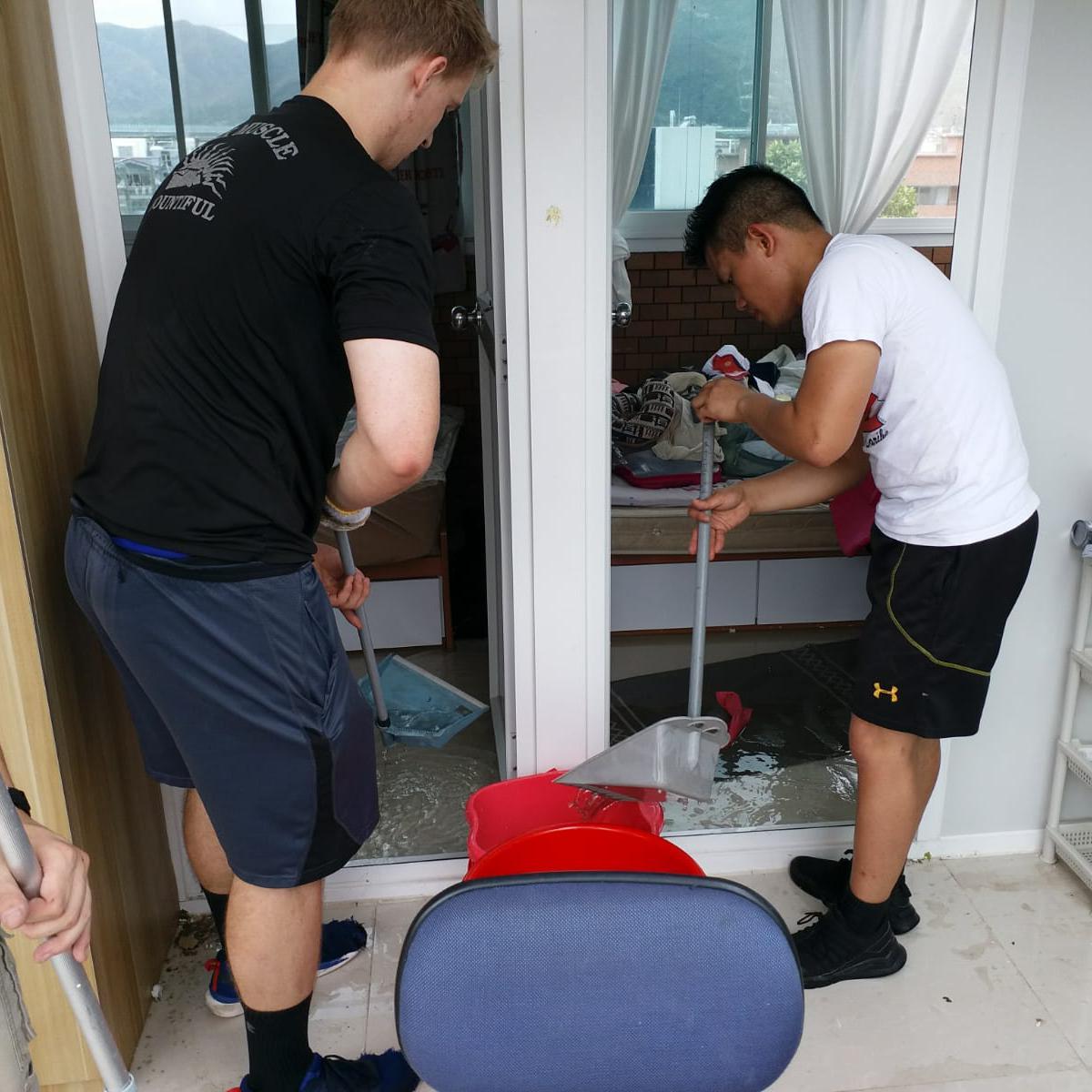 颱風山竹: 傳教士在全港提供服務4