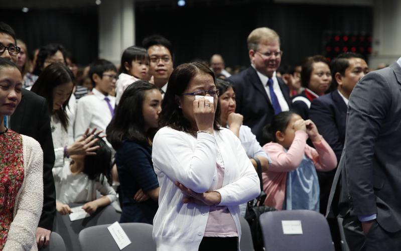 特別成員祈禱會見證