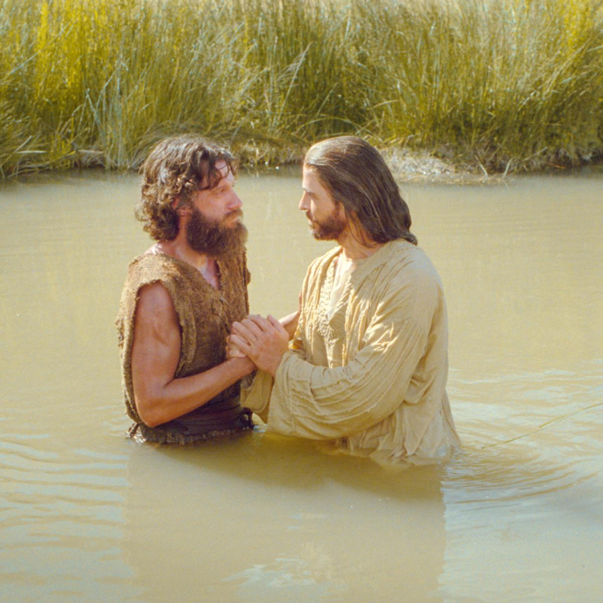 John baptized Jesus Christ