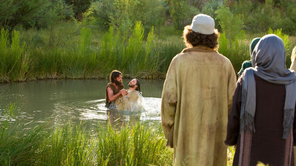 Jesus Christ, baptized