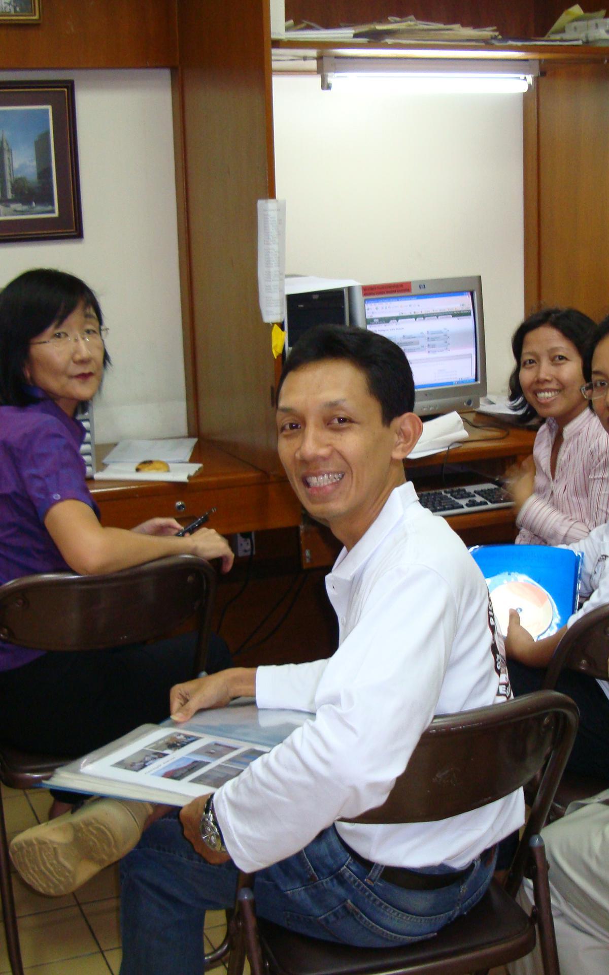 Members doing Family History.JPG