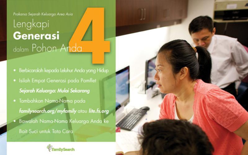 Prakarsa Sejarah Keluarga Area Asia: Lengkapi 4 Generasi dalam Pohon Anda