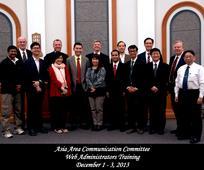 2013.12.03 Asia Area Communicaiton Web admin training.jpg