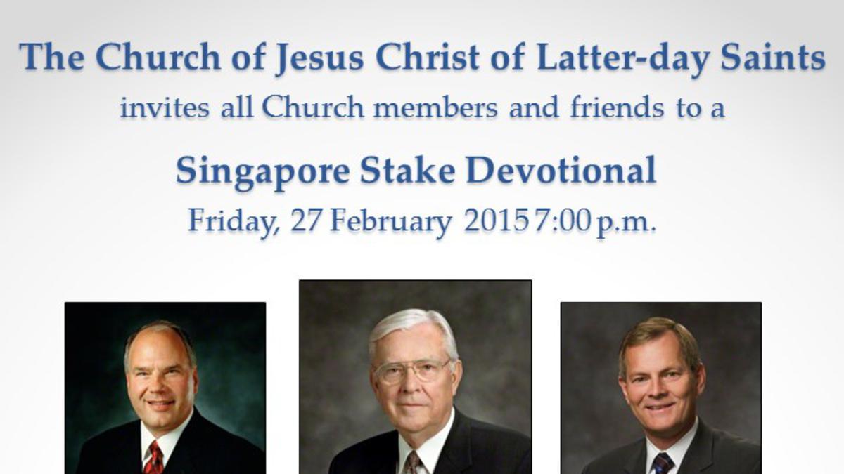 Singapore Stake Devotional