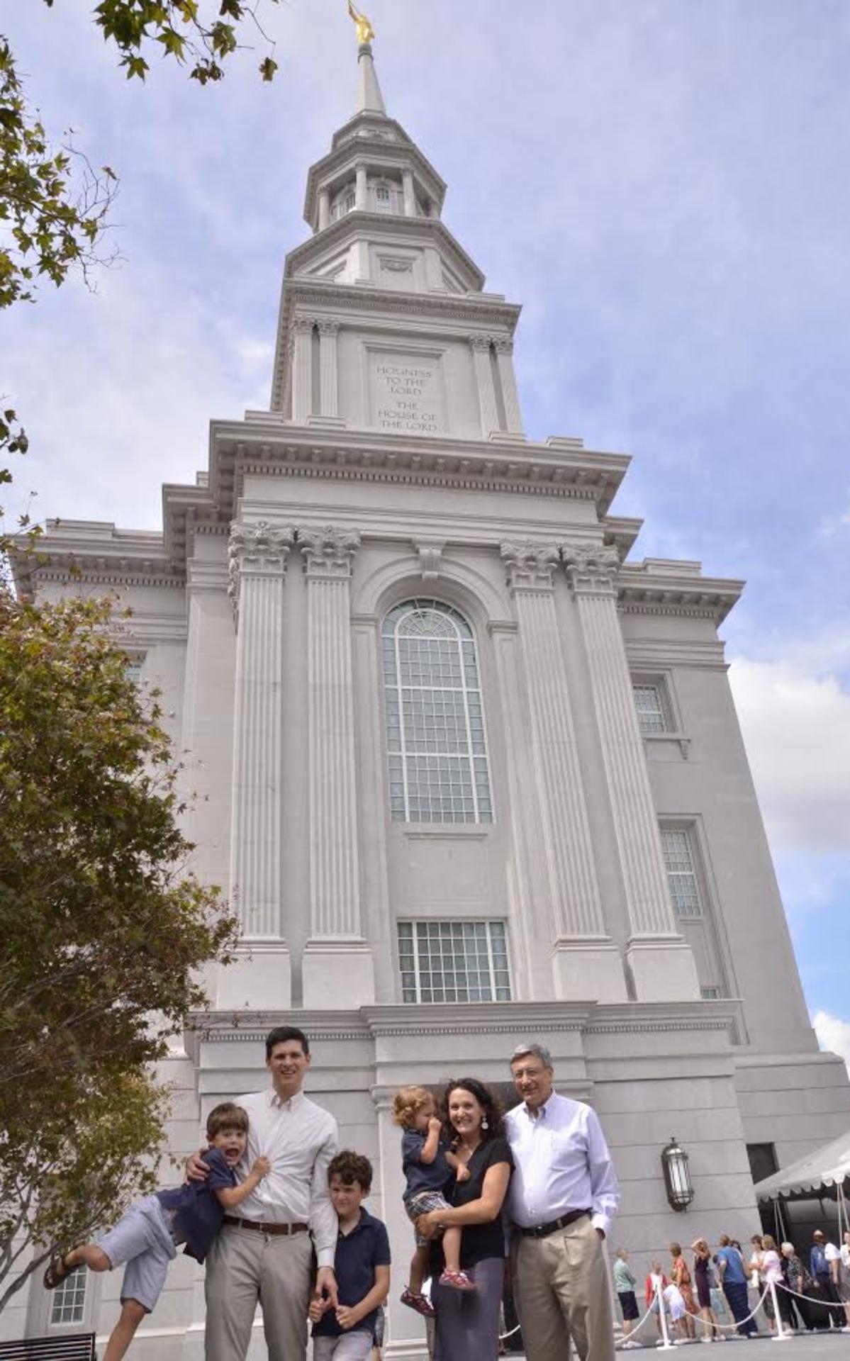 Wasden Family at Philadelphia Pennsylvania Temple Open House.png