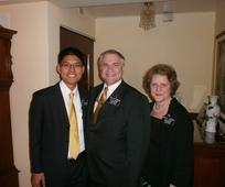 Elder Tay with President and Sister Day.JPG
