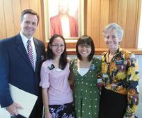 President Henderson, Sister Cabamongan, me and Sister Henderson.JPG