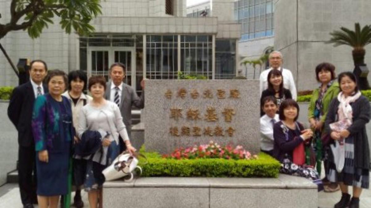 台北聖殿執行奉獻以來首場全日文教儀