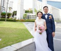 聖殿婚姻見證—謝汶勛與謝蘇曉彤