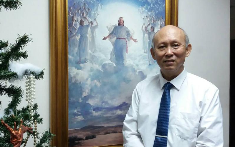台南支聯會祝福教長—周維盛