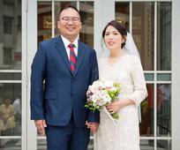 聖殿婚姻見證—陳宏昇和吳海燕