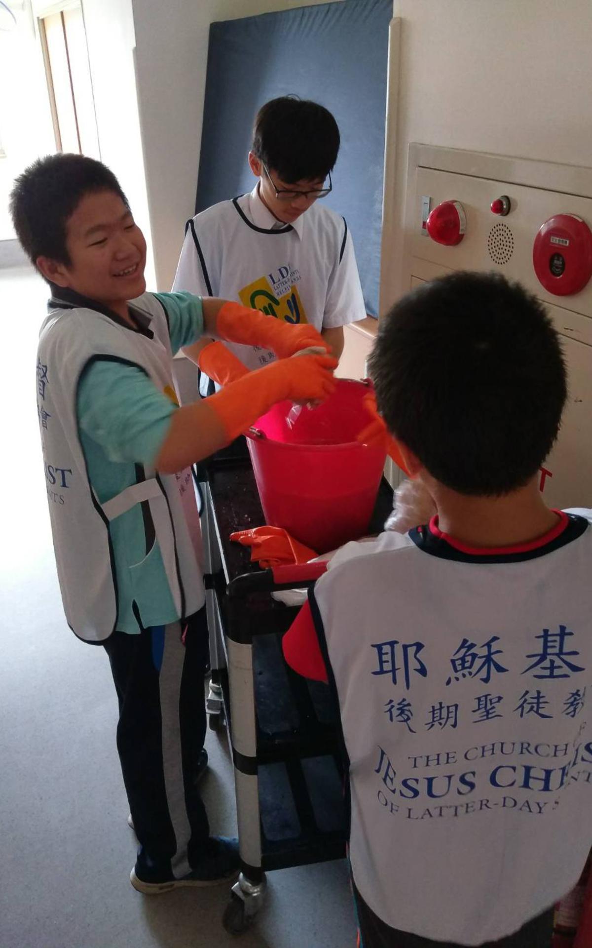 ChiaYi Stake Youth Service Day3