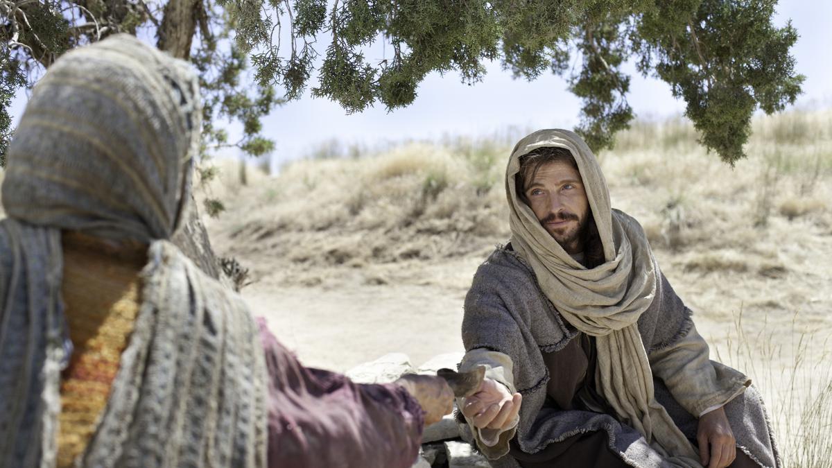 Jésus instruit une Samaritaine