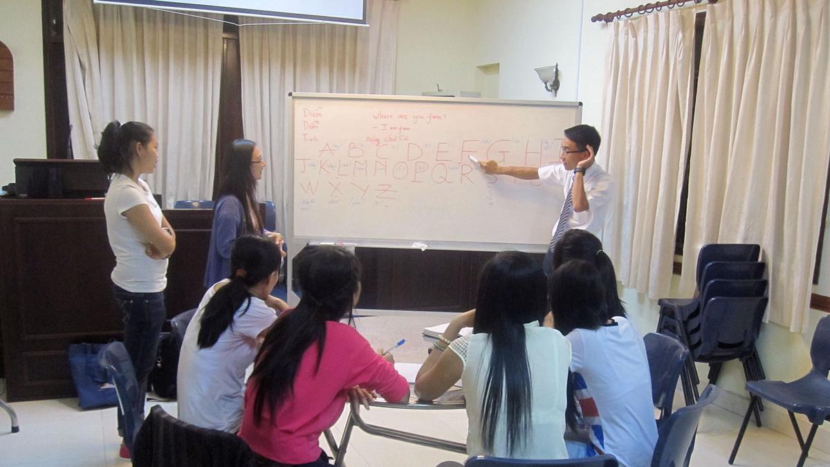 Lớp Học Tiếng Anh