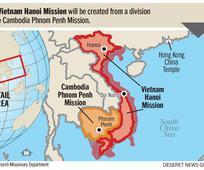 Phái Bộ Hà Nội Việt Nam được tách ra từ Phái Bộ Phnôm Pênh Campuchia