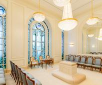 Sala de Selamento do Templo de Paris, França de A Igreja de Jesus Cristo dos Santos dos Últimos Dias