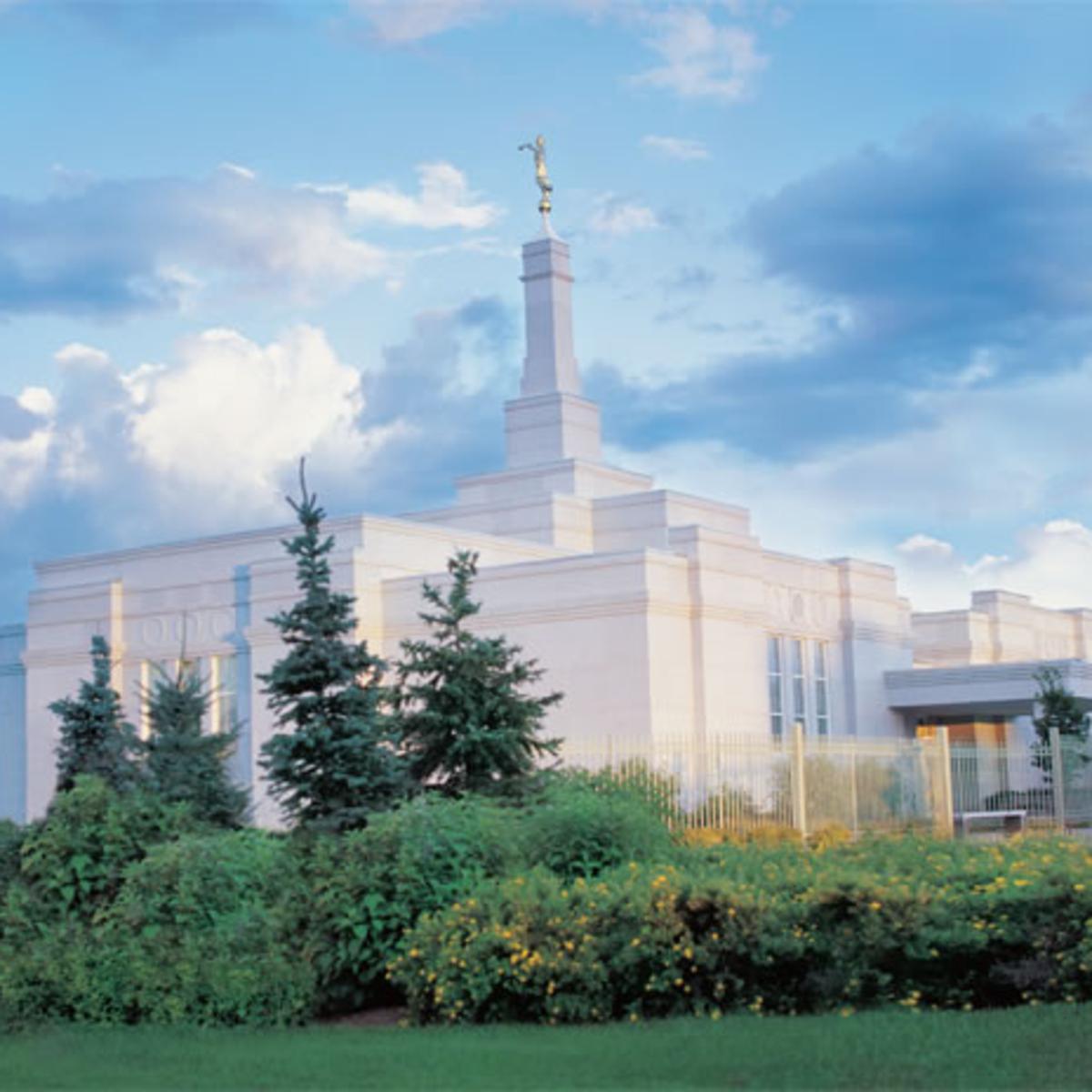 Image of the Regina Saskatchewan Mormon Temple