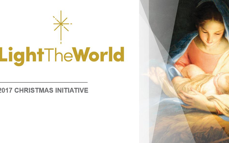 Light the World 2017 Banner