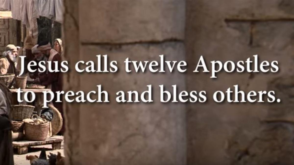 Jesus Calls His Twelve Apostles