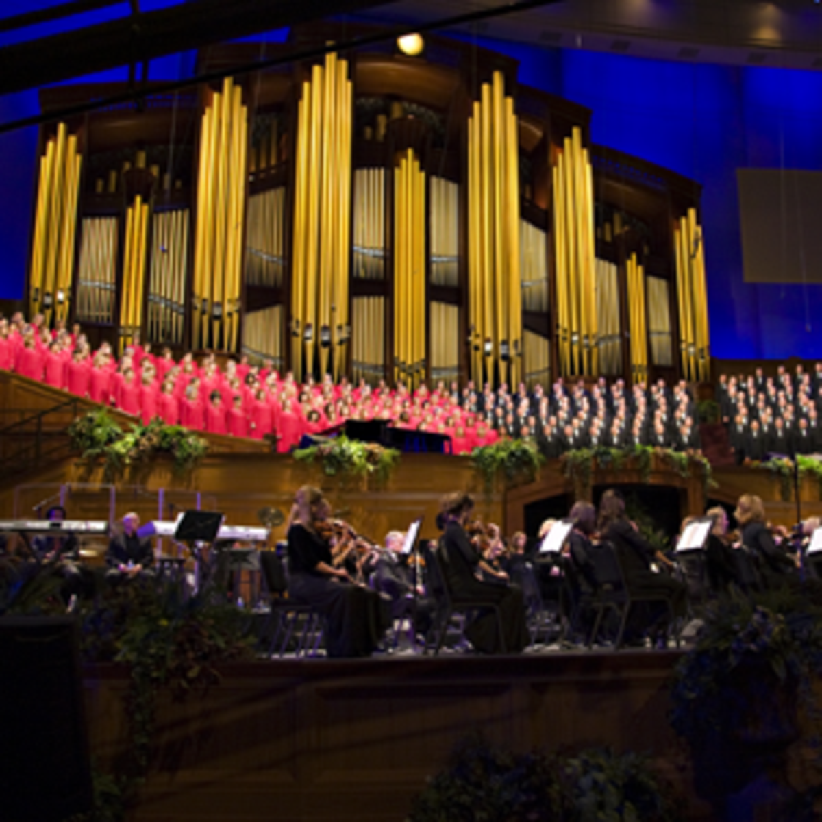 Mormon tabernacle choir of the Church of Jesus Christ of Latter-day Saints