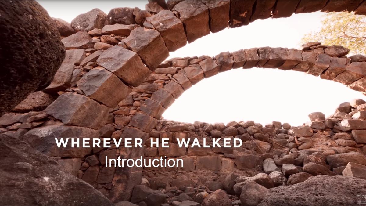 Jesus Christ walked many hard places