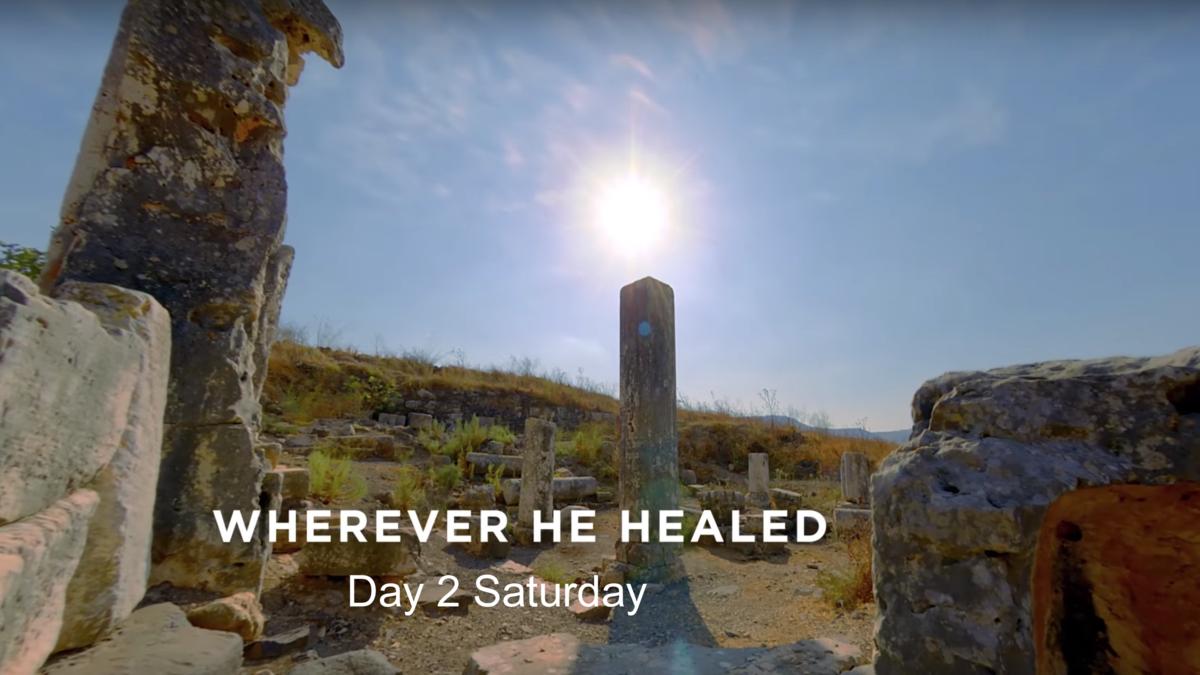 Jesus Christ healed the sick