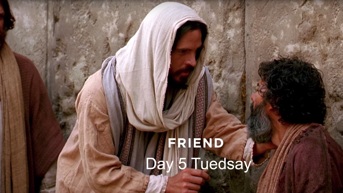 Jesus Christ is our friend