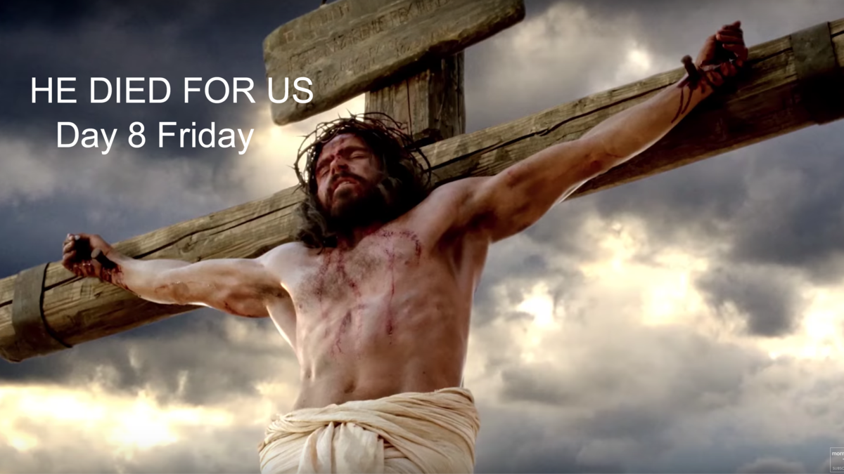 Jesus Christ died for us