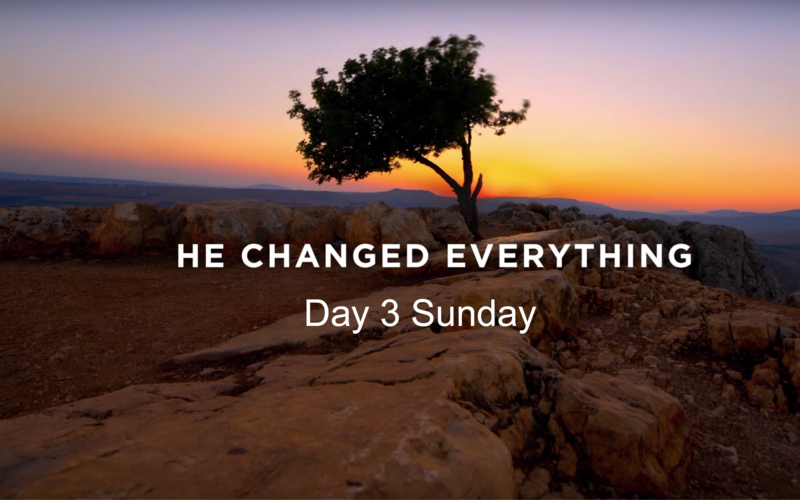 Jesus Christ atoned for our sins. By so doing He changed everything