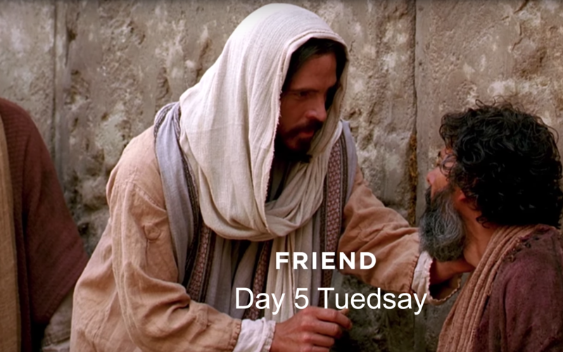 Jesus Christ is and should always be our best friend.