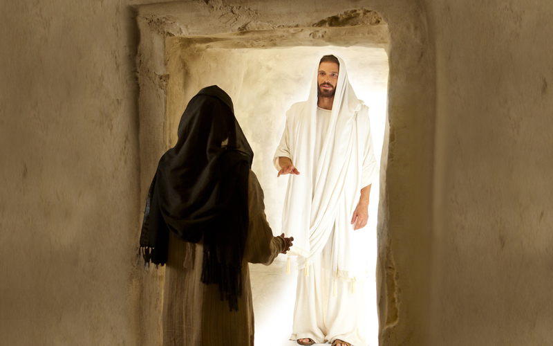 Χριστός με την Mαρία την Mαγδαληνή