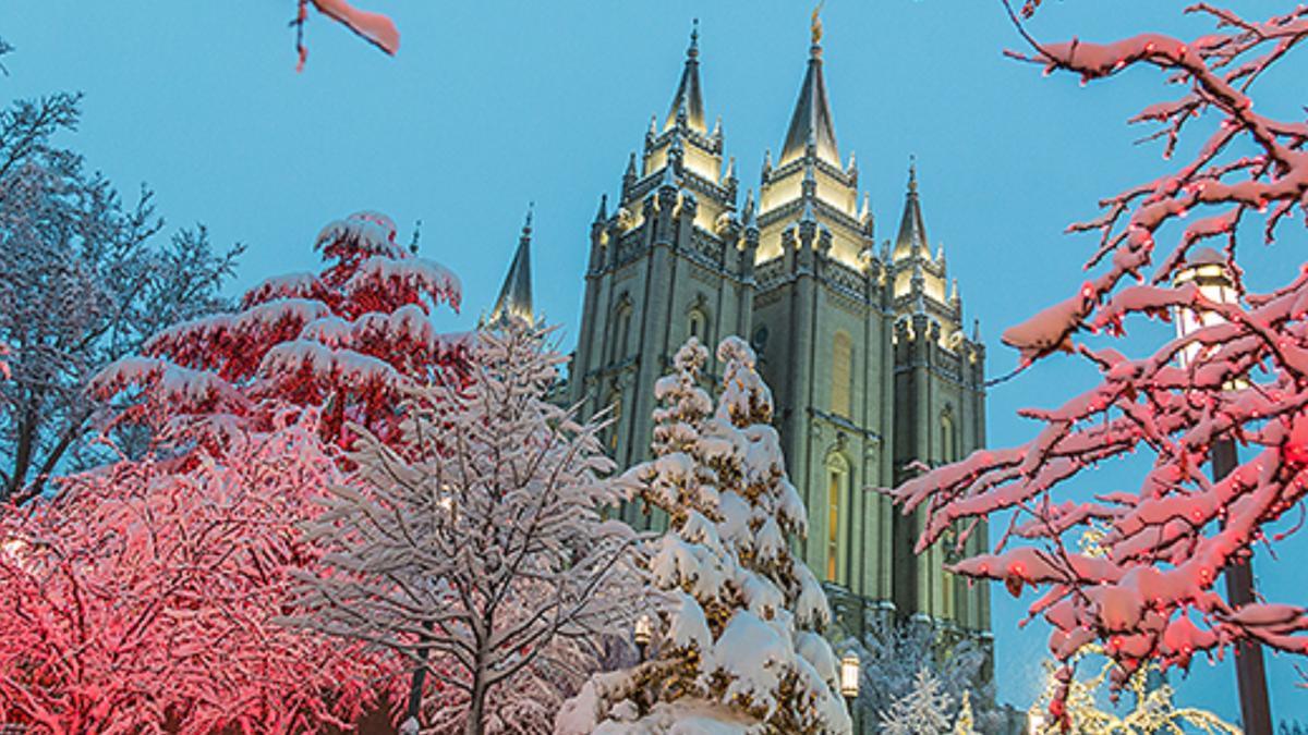 Salt Lake City Tempel, Kirche Jesu Christis der Heiligen der Letzten Tage