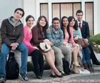 group of young adults