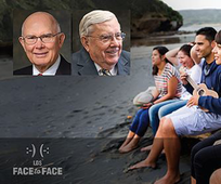 YSA Face to Face with Elder Oaks and Elder Ballard