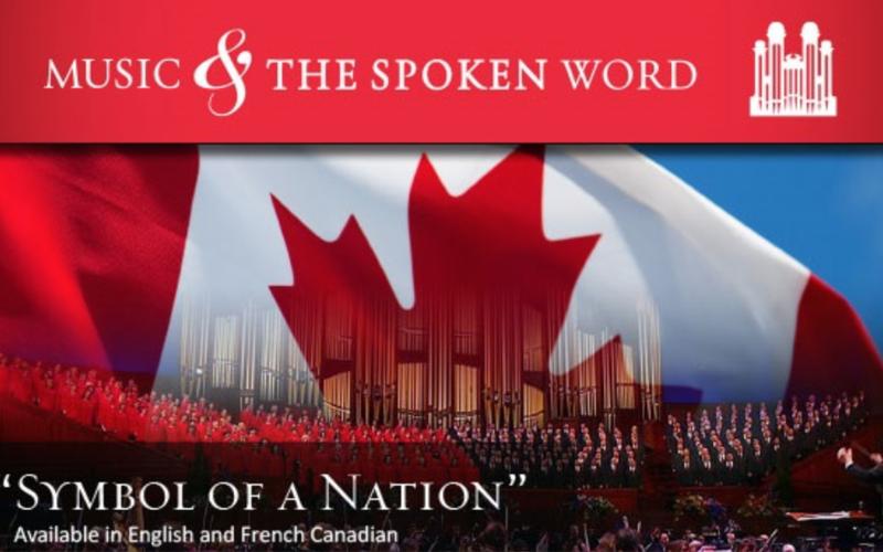 Emblème d'un pays – Diffusion spéciale pour le cent cinquantenaire du Canada
