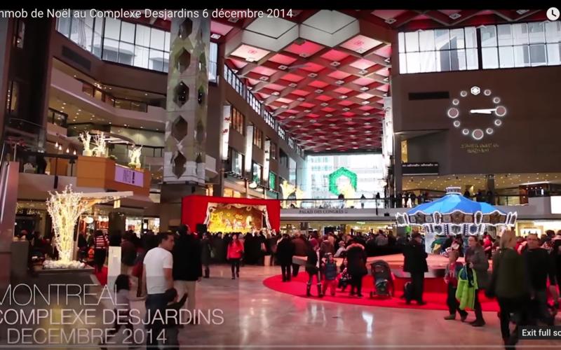 Mobilisation éclair des mormons de Montréal pour célébrer Noël