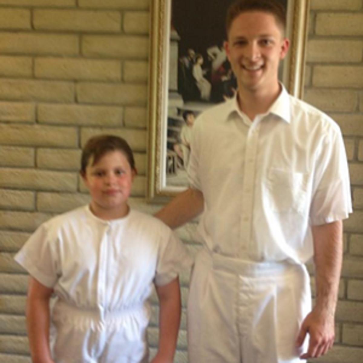 Son 2 baptism